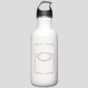 COMF white Stainless Water Bottle 1.0L