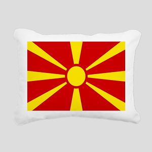 mk-flag Rectangular Canvas Pillow