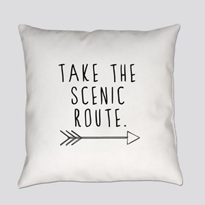 Scenic Route Everyday Pillow