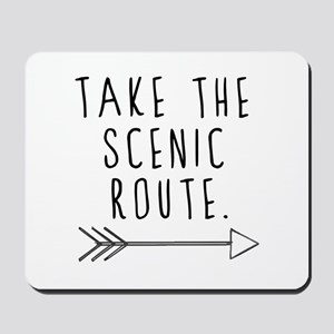 Scenic Route Mousepad