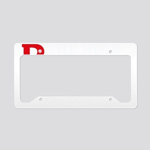 RxOSARY_dark License Plate Holder