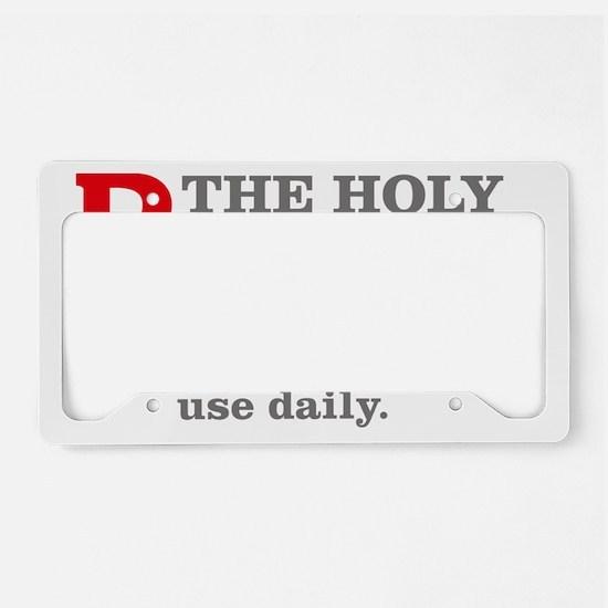 RxOSARY_light License Plate Holder