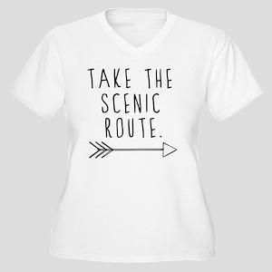 Scenic Route Plus Size T-Shirt