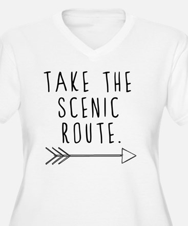 Scenic Route Plus Size T-Shirt
