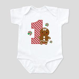 Gingerbread Girl 1st Birthday Infant Bodysuit