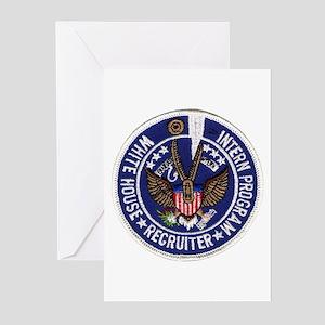 Presidential Intern Recruiter Greeting Cards (Pack
