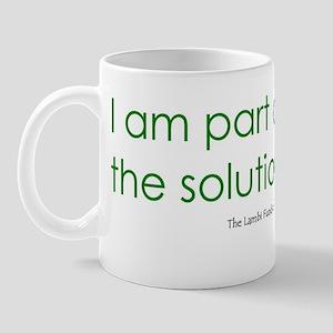 2-Solution_bumper sticker Mug