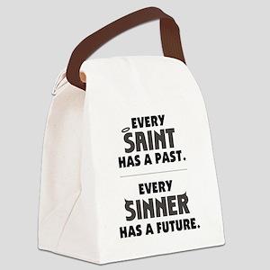 every_saint_light Canvas Lunch Bag