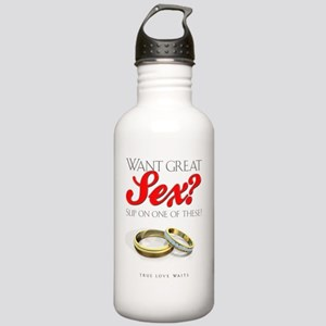 WantGreatSexLight Stainless Water Bottle 1.0L