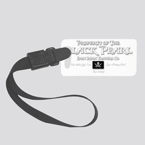 2-black pearl-d Small Luggage Tag
