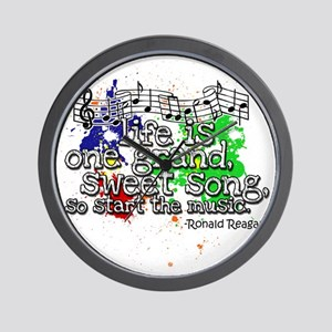 life_is_a_song Wall Clock