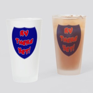 RVThere-HighwaySign Drinking Glass