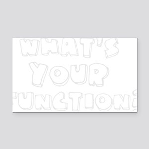 Whats Your Function? Rectangle Car Magnet