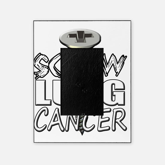 Screw Lung Cancer Picture Frame