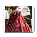 Operation World Prayers Mousepad