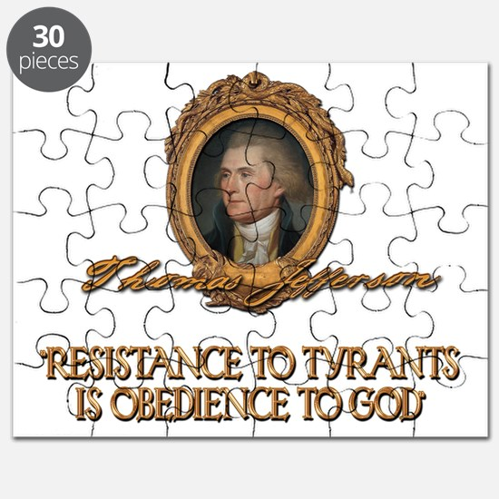 Jefferson Resistance to Tyrants Puzzle