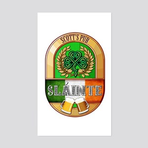 Scott's Irish Pub Sticker (Rectangle)