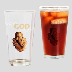 WhatIfGod_Dark Drinking Glass