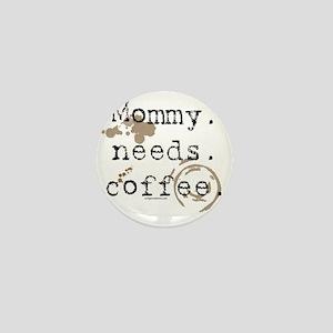 mommyneedscoffee Mini Button