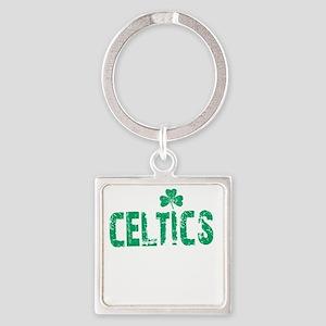 Celtics Thing -dk Square Keychain