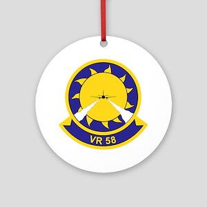 vr-58 Round Ornament