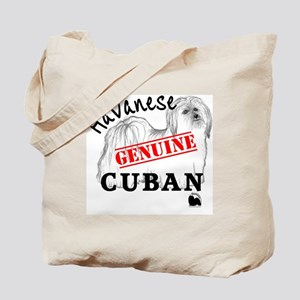 GenuineCuban_with_HRIlogo Tote Bag