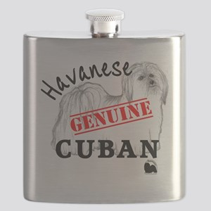 GenuineCuban_with_HRIlogo Flask
