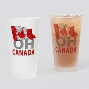Canada day 02 Drinking Glass