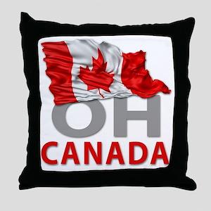 Canada day 02 Throw Pillow