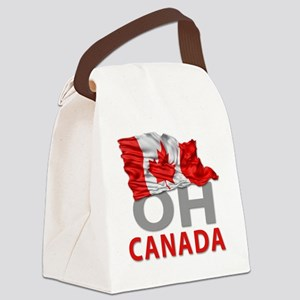 Canada day 02 Canvas Lunch Bag