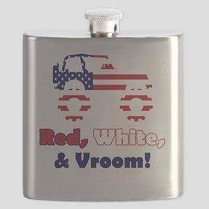 20100526 - RedWhiteNVroom-v2 Flask