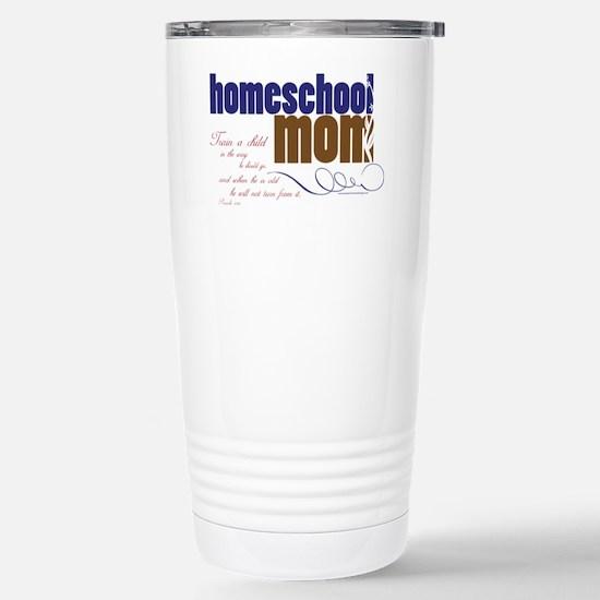 homeschool mom Stainless Steel Travel Mug