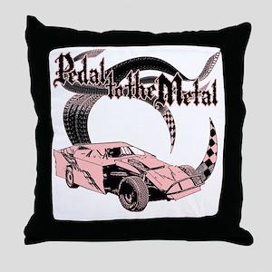 PTTM_DirtMod_Pink Throw Pillow