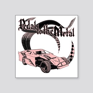 "PTTM_DirtMod_Pink Square Sticker 3"" x 3"""