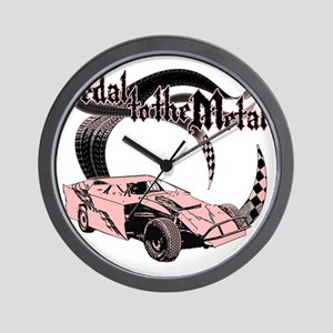 PTTM_DirtMod_Pink Wall Clock
