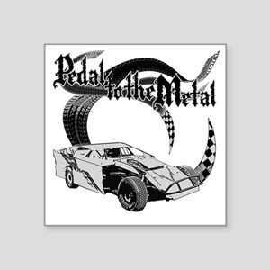 "PTTM_DirtMod_Gray Square Sticker 3"" x 3"""