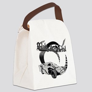 PTTM_DirtMod_Gray Canvas Lunch Bag