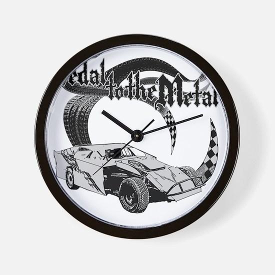 PTTM_DirtMod_Gray Wall Clock