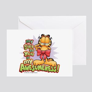 My Awesomeness Card Greeting Cards