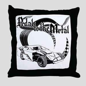 PTTM_DirtMod_NoWhite Throw Pillow