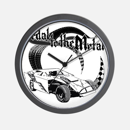 PTTM_DirtMod_NoWhite Wall Clock