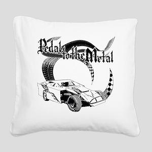 PTTM_DirtMod_NoWhite Square Canvas Pillow