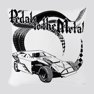 PTTM_DirtMod_NoWhite Woven Throw Pillow