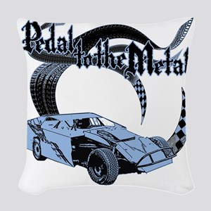 PTTM_DirtMod_Blue Woven Throw Pillow