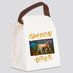 ishtar gate lion RUGGED Canvas Lunch Bag