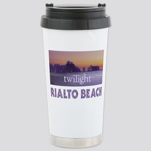 Twilight  at Rialto Beach Stainless Steel Travel M
