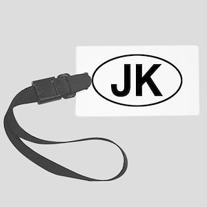 jeep jk Large Luggage Tag