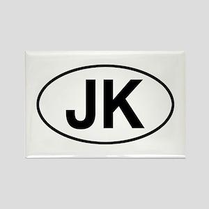 jeep jk Rectangle Magnet