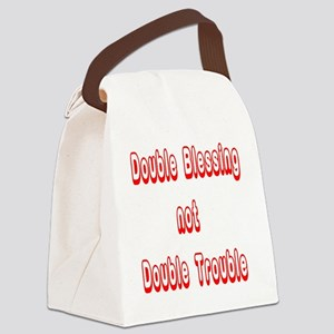 doubleblessing5 Canvas Lunch Bag