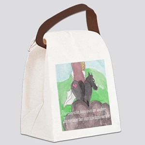 HappilyEverAfter Canvas Lunch Bag